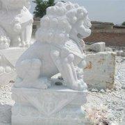 汉白玉石狮子石雕狮子(图