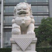 中式石狮子大理石(图片