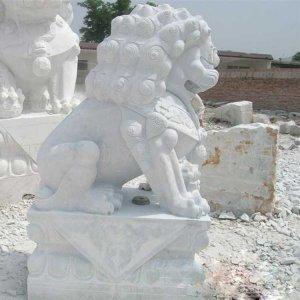汉白玉石狮子石雕狮子