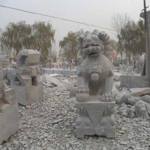 高1.5米青石石狮子石雕