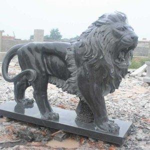 长2.5米青石石狮子价格(图片)