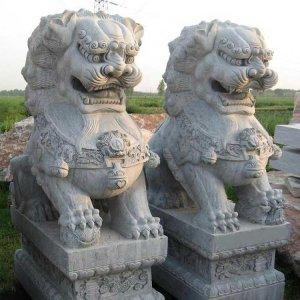 花岗岩石狮子价格(图片)