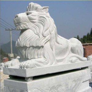 花岗岩石雕狮子(图片)