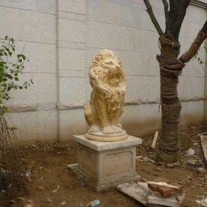 大理石石狮子价格(图片)
