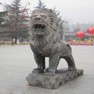 大理石雕狮子(图片)
