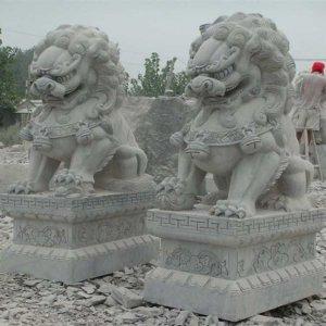 镇宅石狮子(图片)