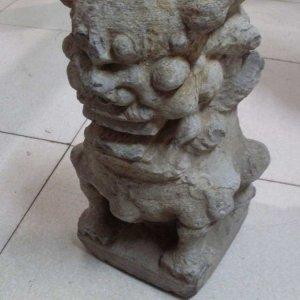 抽象镇宅石狮子石雕狮子(图片)