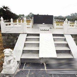 汉白玉墓地石雕狮子价格(图片)