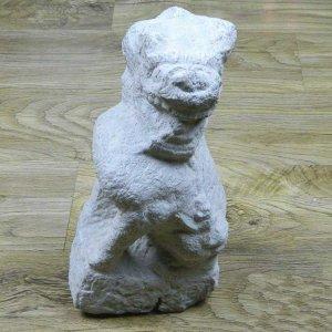 石雕狮子看门看门石狮子价格(图片)