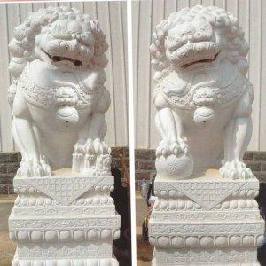 石雕狮子门墩价格(图片)