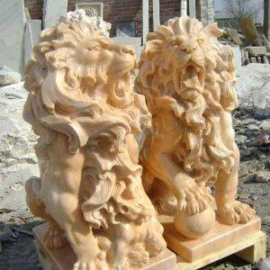 欧式石雕狮子(图片)