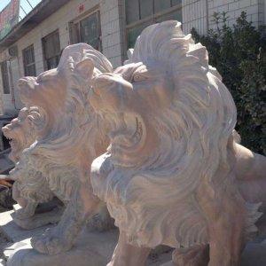 欧式石雕狮子花岗岩(图片)