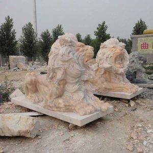 欧式石狮子石雕狮子(图片)