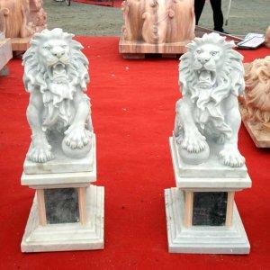 威武欧式石狮子石雕狮子(图片)