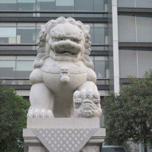 中式石狮子价格(图片)