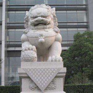 中式石狮子大理石(图