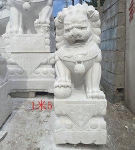 高1.5米 湖南汉白玉材质 价格面议(08)