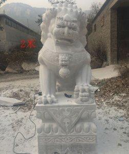 高2米汉白玉石材石雕